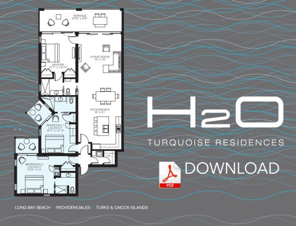 H2O Condos for sales - Kiteboarding Turks and Caicos