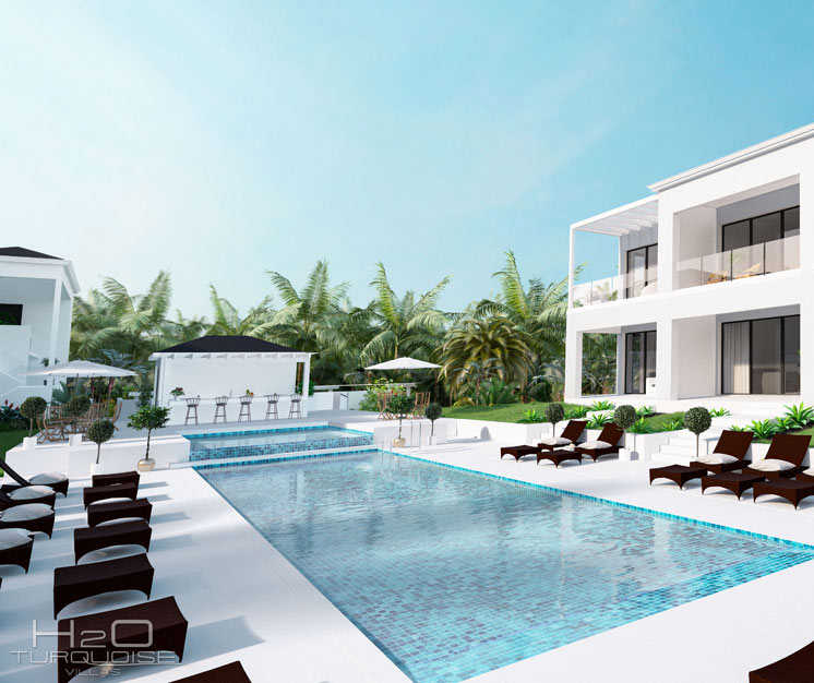 15 beach Condos for sales on Long Bay - Turks and Caicos